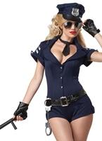 Arrêter l'agent Eye Candy Costume Deguisement policiere