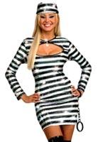 Prisonnier de l'amour condamnés Costume Deguisement policiere