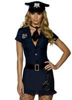 Costume de méchant flic de fièvre Deguisement policiere