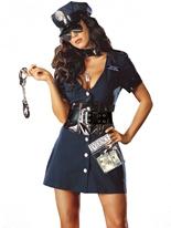 Costume de flic corrompu Deguisement policiere