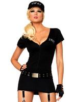 Costume commandant SWAT Deguisement policiere