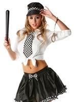 Police Lady Tutu Kit Deguisement policiere