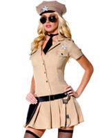 Costume de shérif sensuelle Deguisement policiere