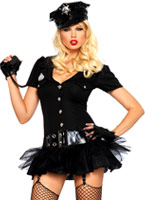Agent Bombshell Costume Deguisement policiere