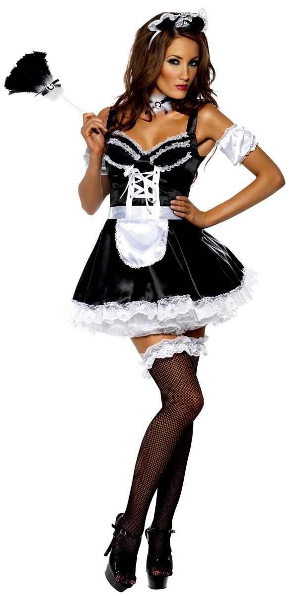 Deguisement soubrette Costume sexy de soubrette