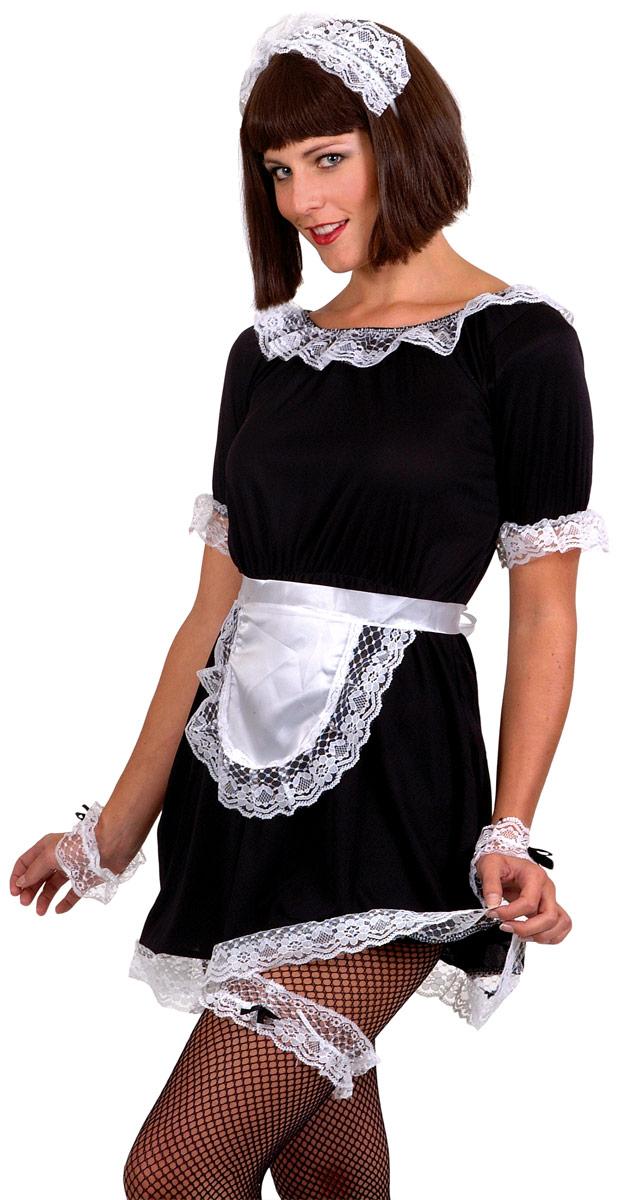Deguisement soubrette Maids français ensemble