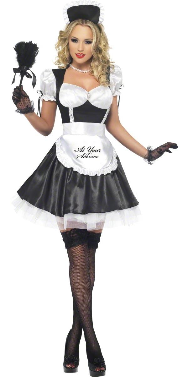 Deguisement soubrette Fièvre Boutique Costume de soubrette