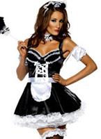 Costume sexy de soubrette Deguisement soubrette