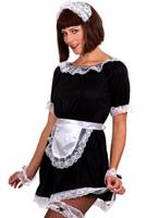 Maids français ensemble Deguisement soubrette