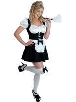 Costume coquine Fraulein Deguisement soubrette