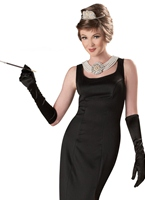 Holly Golightly petit-déjeuner à Tiffany Costume Costume année 50
