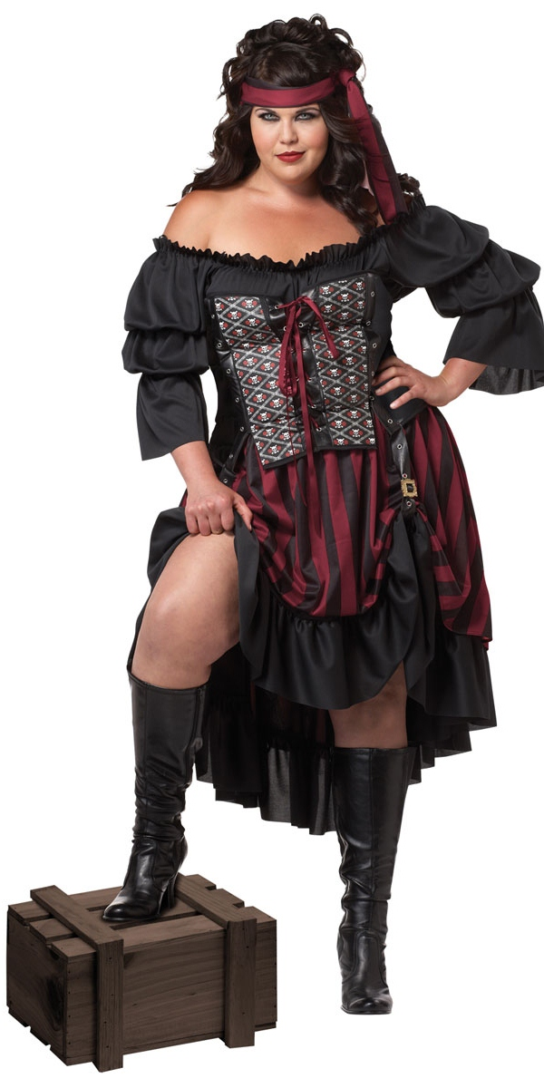 Costume grande taille Plus Size Costume de Pirate Wench