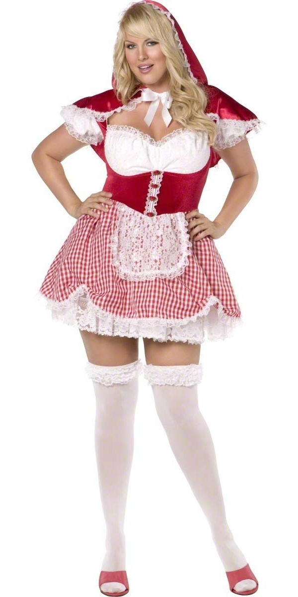 Costume grande taille Plus Size Sexy Red Riding Hood Costume (FC)