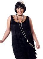 Plus Size Fashion Flapper Costume (FC) Costume grande taille