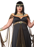 Plus la taille de Reine du Nil Costume Costume grande taille