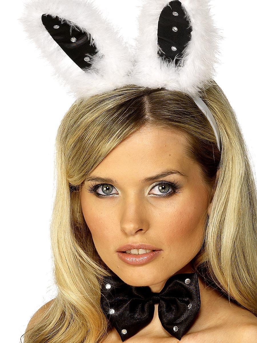 Deguisement lapine Lapin oreille Set Black