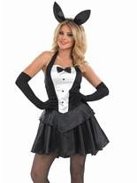 Costume de fille hôtesse Bunny Deguisement lapine