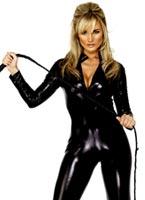 Fièvre Miss Whiplash Costume noir Deguisement lapine