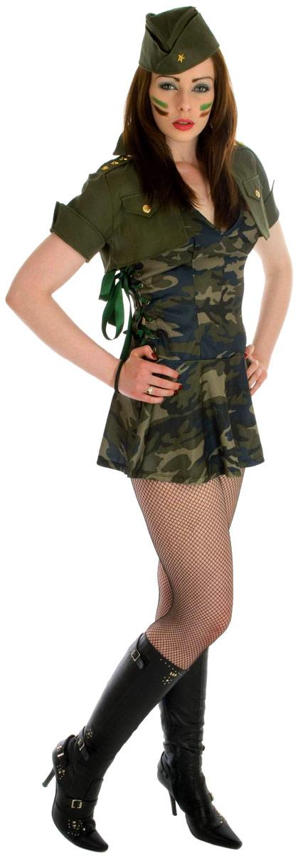 Costume militaire Costume de fille de Forces spéciales