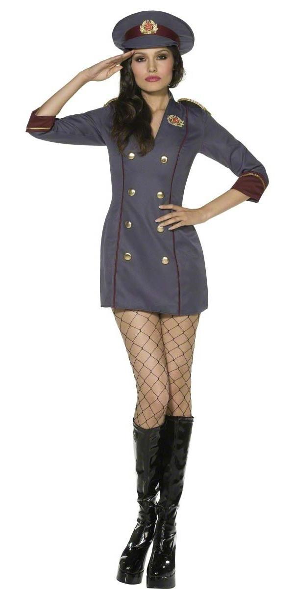 Costume militaire Costume d'espion russe de fièvre