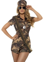 Armée Sexy Girl Costume militaire
