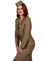 Andrews Sisters armée américaine Costume Costume militaire