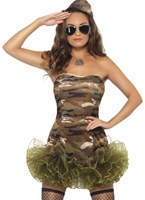 Costume armée Tutu Costume militaire