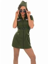 AVIATOR Girl Costume Costume militaire