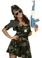 Costume militaire Babe Costume militaire
