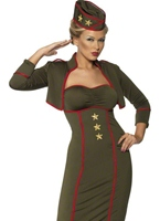Costume fille armée Costume militaire