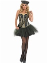 Costume militaire Tutu Army Girl Costume