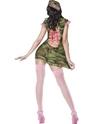 Costume militaire Fièvre Pin Up Camo Cutie Costume