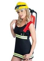 Costume pompier sexy Deguisement pompier
