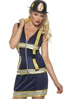 Costume Sexy de Firette fièvre Deguisement pompier