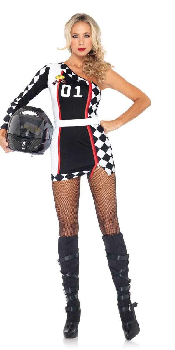 Costume racer premi re place costume sportif d guisement femme 29 05 2018 - Deguisement sportif annee 80 ...