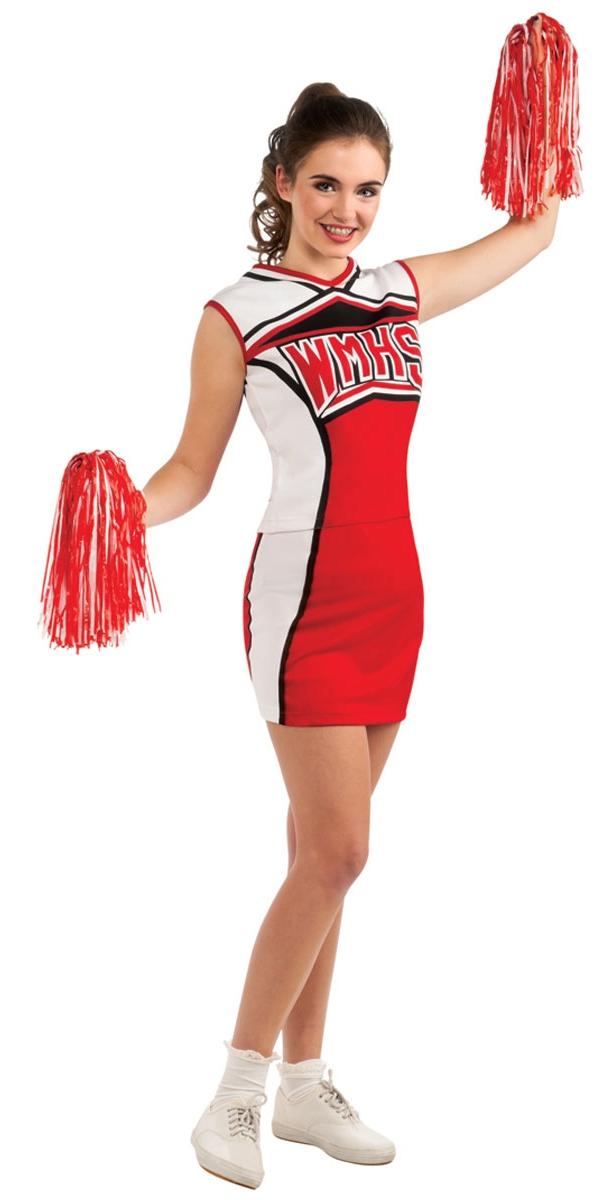 Glee cheerleader cheerios costume costume sportif d guisement femme 07 07 2018 - Deguisement sportif annee 80 ...