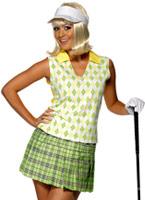 Allé jouer au golf Ladies Costume Costume sportif