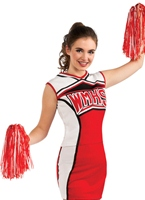 Glee Cheerleader Cheerios Costume Costume sportif
