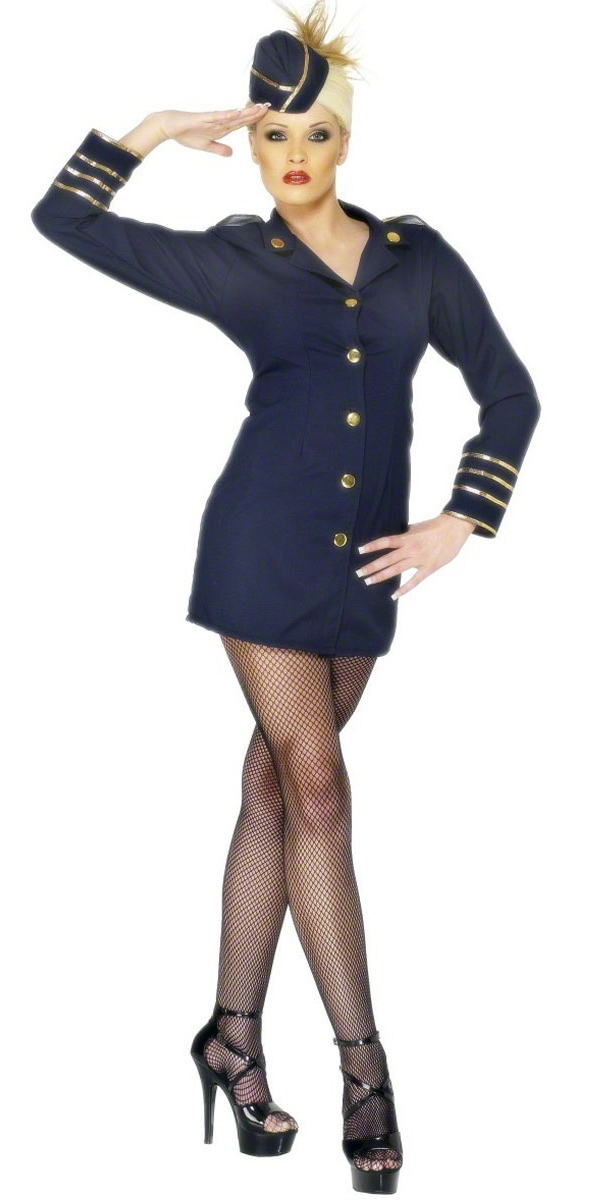 Costume hotesse Agent de bord