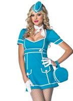 Costume classique de bord Costume hotesse