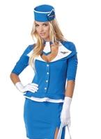 Costume d'hôtesse de l'air rétro Costume hotesse