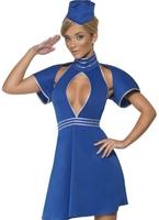 Costume hôtesse haute Mile Costume hotesse