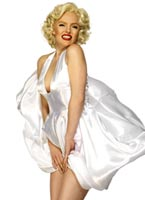 Marilyn Monroe Costume Robe de Satin Costume marilyn monroe