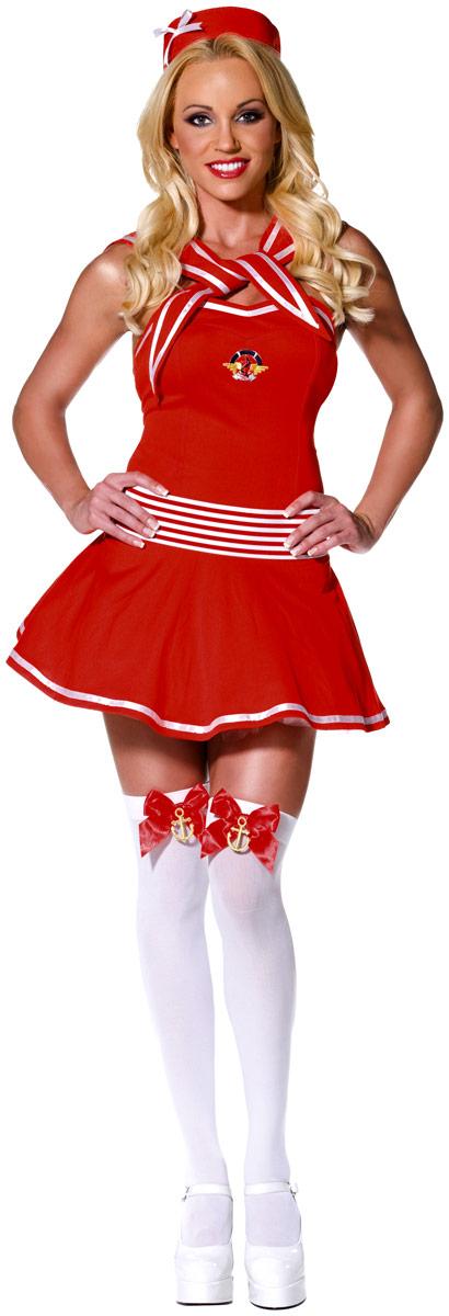 Costume marine Costume de capitaine Naughty