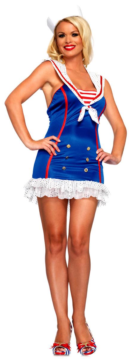 Costume marine Fringants First Mate Sailor Costume