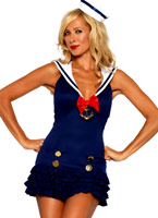 Sweetheart Sailor Costume Costume marine