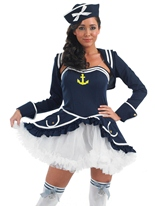 Tutu Sailor Costume de fille Costume marine