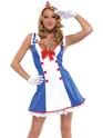 Costume marine Par-dessus bord Sailor Costume