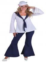 Costume de fille de marin Costume marine