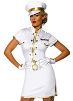 Costume de capitaine de haute mer Costume marine